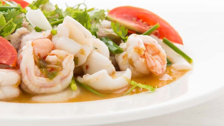 SOUP  SHRIMP SALAD COMBO image